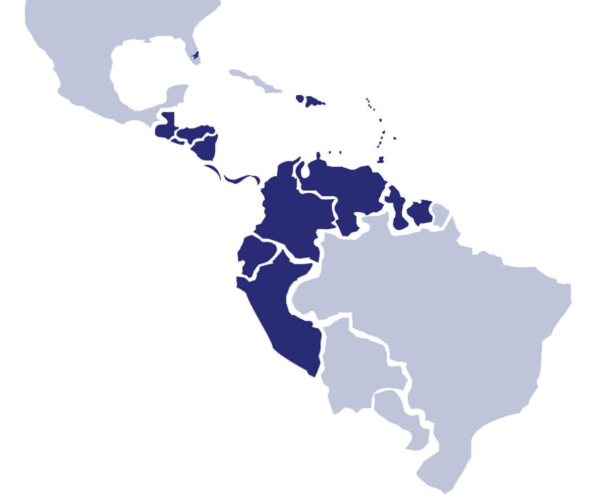 king ocean map